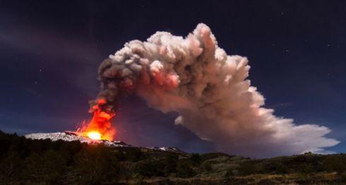 Monte Etna, volcanes