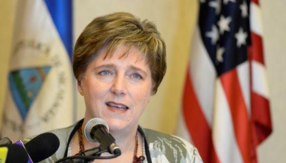 Embajadora de Estados Unidos, Laura Dogu. LA PRENSA/ WILMER LÓPEZ