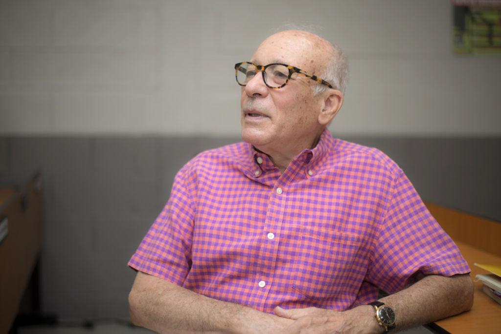 Bosco Matamoros, exdiplomático y catedrático nicaragüense. LA PRENSA / Óscar Navarrete.