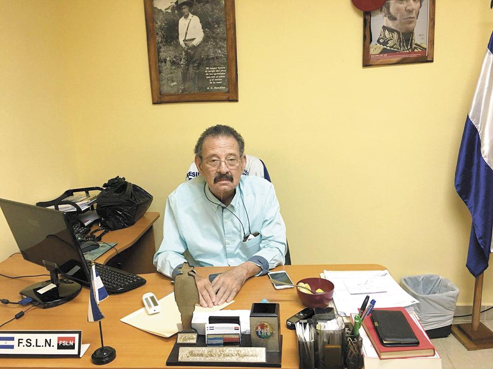 Jacinto Juárez nació en el barrio San Antonio y ahí conoció a los hermanos Ortega Saavedra, Rosario Murillo, Arnoldo Alemán, Joaquín Cuadra, Julio Buitrago, etc. LAPRENSA/A. GÓNZALEZ