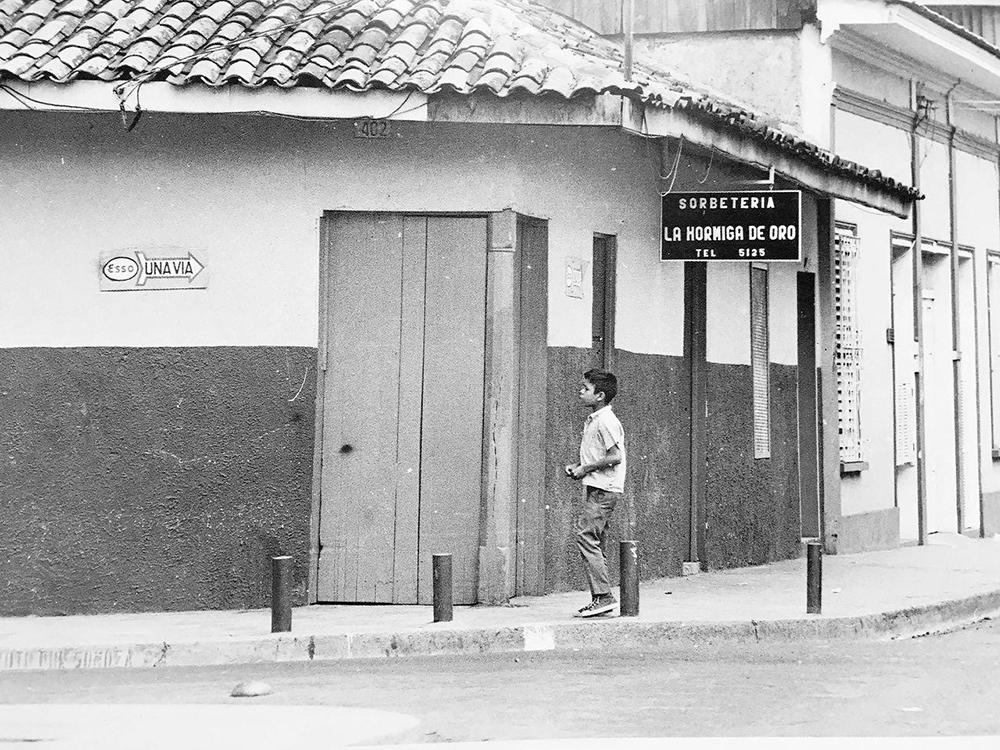 La Hormiga de Oro era una de las sorbeterías más populares de Managua. C erca de ahí vivía Rosario Murillo Zambrana. LAPRENSA/ Cortesía de Nicolás López Maltez