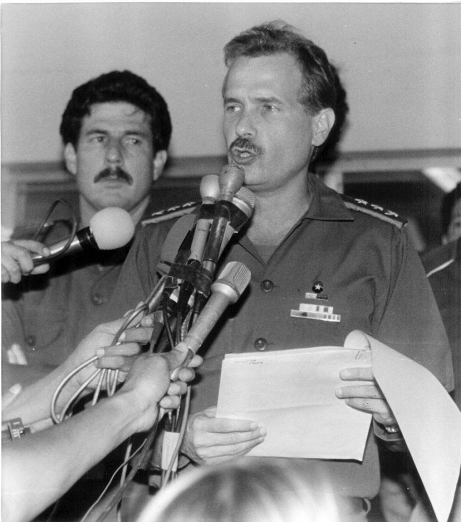 Joaquín Cuadra vivió en el barrio San Antonio y llegó a ser comandante general del Ejército de Nicaragua. LAPRENSA / Archivo