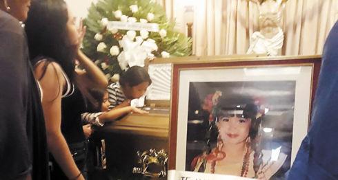Los restos de la doctora María Teresa Gaitán fueron velados en la Funeraria Reñazco y serán sepultados hoy. WILIH NARVÁEZ
