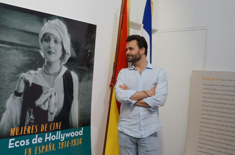 El español Eugenio Fontaneda Berthet, curador de la muestra.LA PRENSA/Arnulfo Agüero