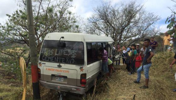 accidente, Matagalpa
