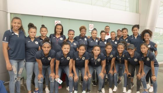 Elna Dixon, Selección Nicaragüense de Futbol Femenino