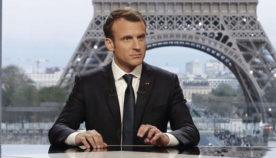 Emmanuel Macron, Francia