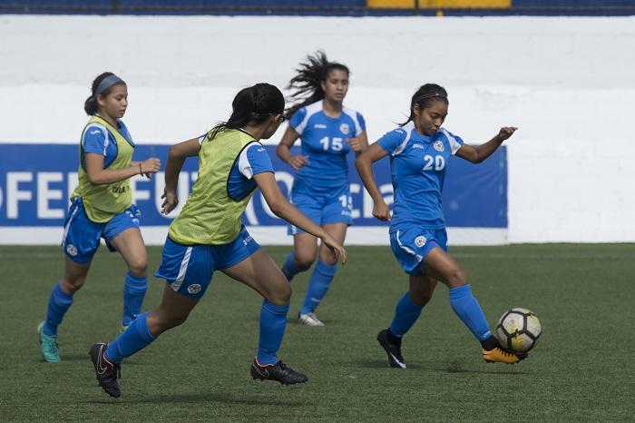 El Campeonato Premundial Sub-17 de Futbol Femenino que se realizaba en abril en el país, no pudo concluirse por la crisis sociopolítica en el país. LA PRENSA/JADER FLORES