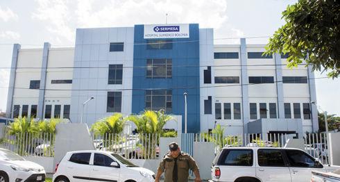 Sumedico es administrado ahora por el INSS a través de Sermesa. El centro hospitalario es resguardado por la empresa de seguridad El Goliat, propiedad de José Mojica Mejía, allegado a la familia presidencial. LA PRENSA/JADER FLORES