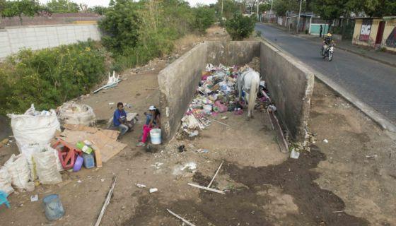 Basura en Managua