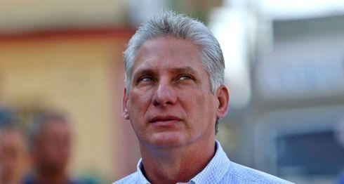 Miguel Díaz-Canel, Cuba
