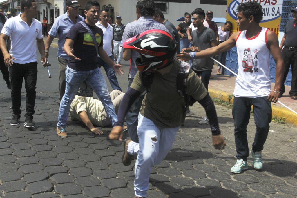 INSS, protestas