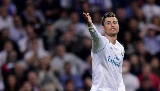 Cristiano Ronaldo fue nuevamente el hombre clave para el Real Madrid, que empató con el Athletic de Bilbao en la Liga española. LA PRENSA/AFP/JAVIER SORIANO