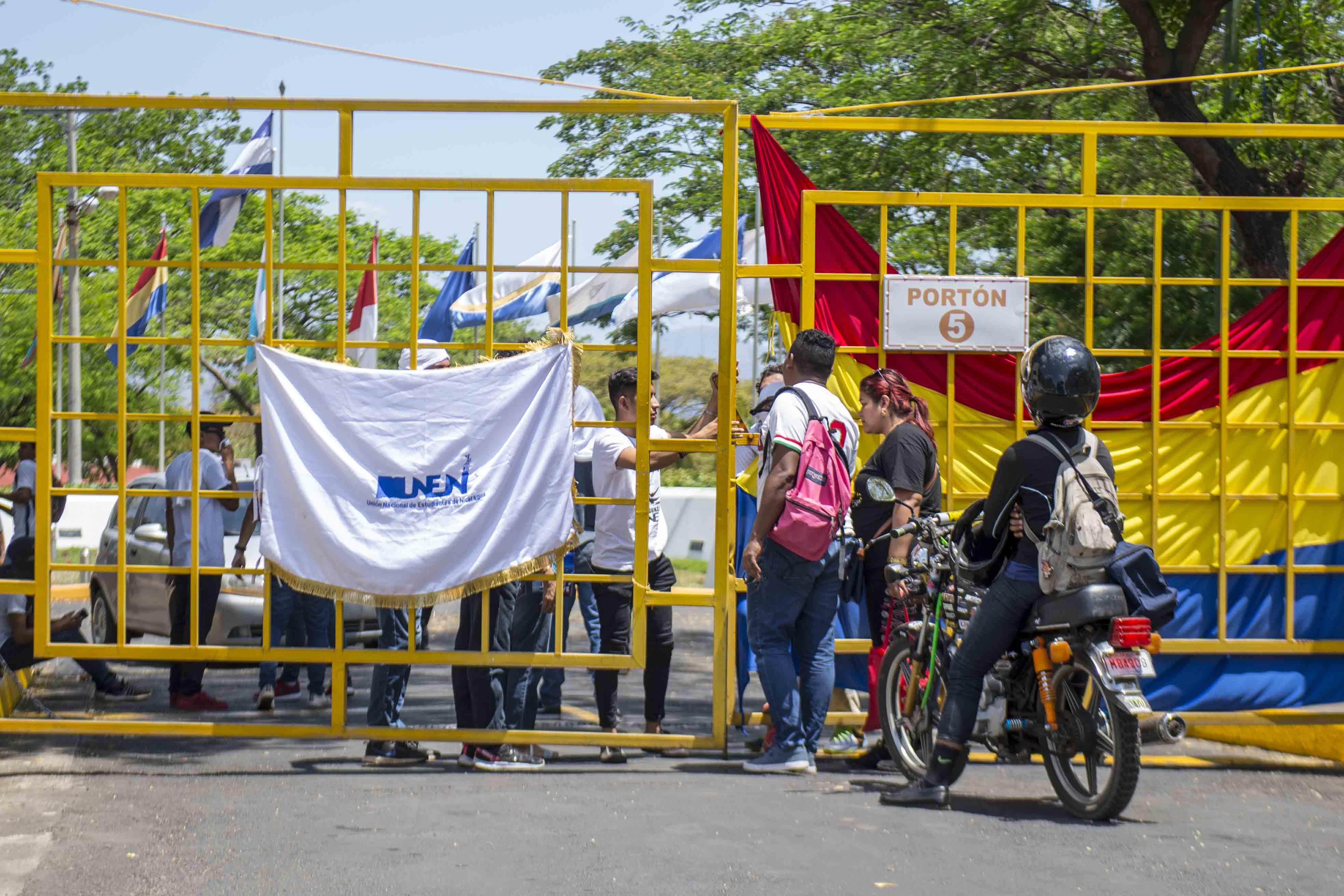 La marcha de Unen en Managua no tuvo convocatoria