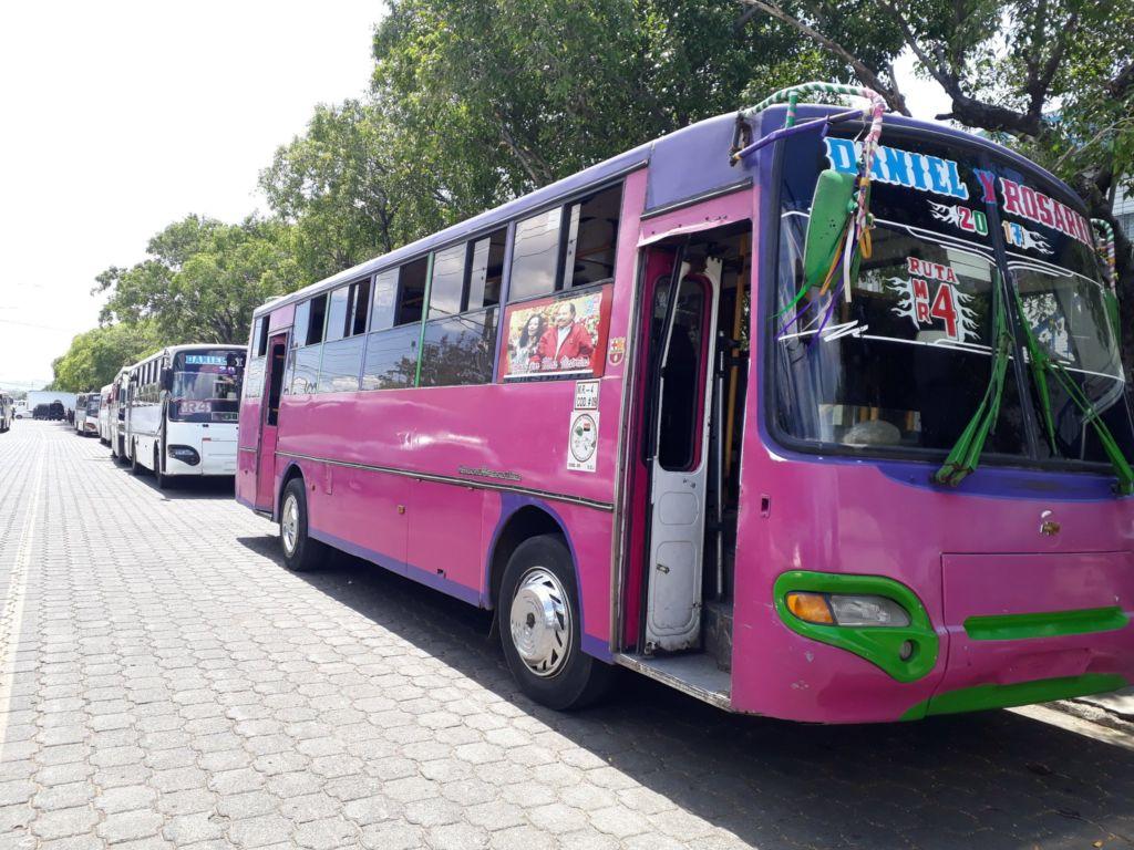 buses, Nicaragua, INSS