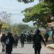 Protestas contra reformas del INSS en Ticuantepe