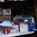 Ciudadanos recuperan objetos robados durante saqueos en Managua