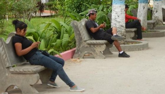 El Gobierno de Nicaragua bloqueó la señal de wifi en todos los parques de Managua, con el objetivo de continuar censurando la información relacionada a las protestas. LA PRENSA/ ARCHIVO
