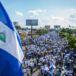 Multitudinaria marcha en pro de la libertad en Nicaragua