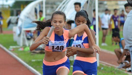 Ariana Rivera Orozco representará al atletismo de Nicaragua en los Juegos Olímpicos de la Juventud de Argentina. LA PRENSA/CARLOS MONTEALTO