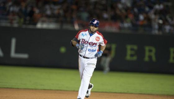 Wuillians Vásquez, del Bóer, conectó su octavo jonrón del campeonato y eso solo superado por Juan Carlos Urbina. LA PRENSA/MANUEL ESQUIVEL