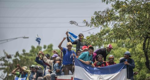 consejo anticanal, movimiento campesino, marcha nacional