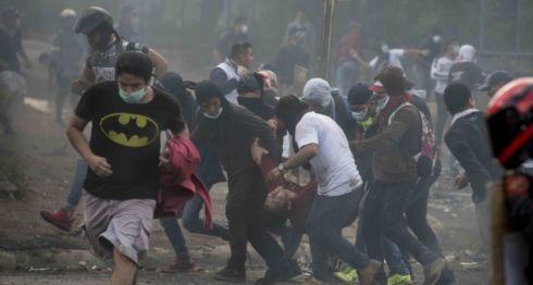 protestas en Nicaragua, represión en nicaragua
