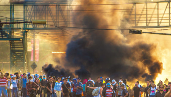 Desde el 19 de abril las protestas no han cesado contra el gobierno de Daniel Ortega. LAPRENSA/C.Valle