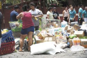 protestas, saqueos, Nicaragua