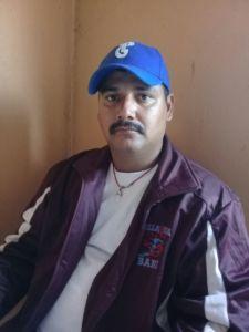 Nemesio Mejía, lider campesino anticanal, en Punta Gorda, denuncio, agresión policial