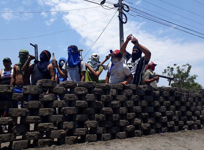 Niquinohomo, protestas, Nicaragua