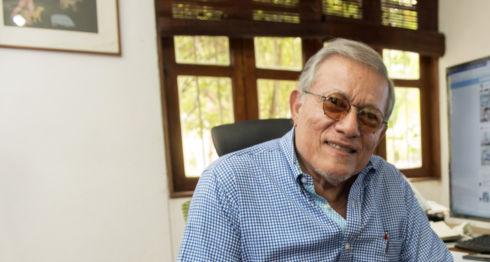 Óscar René Vargas, sociólogo y cofundador del FSLN. LA PRENSA / Uriel Molina.