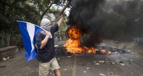 Tranques en Nicaragua
