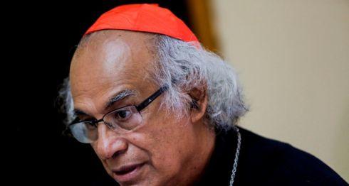 El cardenal Leopoldo Brenes, arzobispo de la arquidiócesis de Managua. LA PRENSA/ ARCHIVO