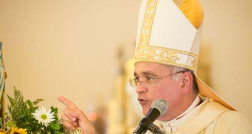Monseñor Silvio Báez, obispo auxiliar de Managua. LA PRENSA/ URIEL MOLINA