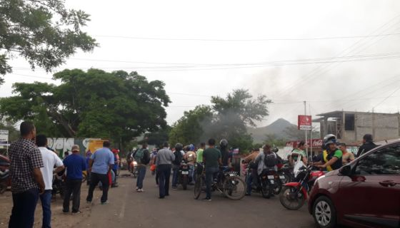 Estelí, protestas, tranques