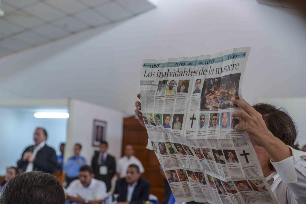 diálogo, universitarios, Daniel Ortega, Rosario Murillo, obispos