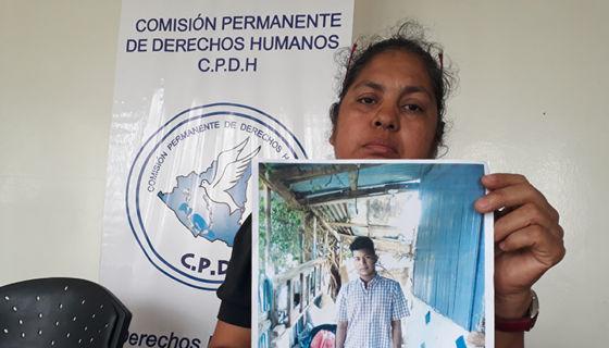Desaparecido en Nicaragua