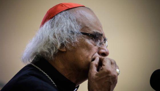 Cardenal Leopoldo Brenes, arzobispo de Managua. LA PRENSA/ ARCHIVO