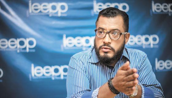 Felix Maradiaga, director del Ieepp. LA PRENSA / Óscar Navarrete.