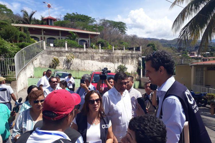 CIDH en Matagalpa, CIDH