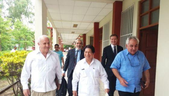 OEA, Denis Moncada, obispos, diálogo