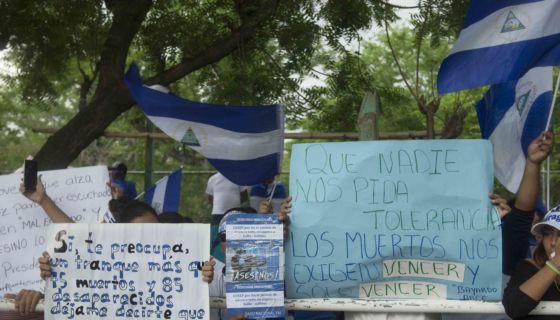masacre, CIDH, Hagamos Democracia, Daniel Ortega