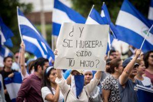 protestas en Nicaragua