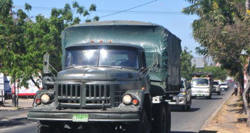 Ejército de Nicaragua, camiones, camiones del Ejército de Nicaragua
