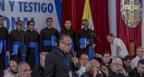 Monseñor Abelardo Mata, diálogo, Luis Almagro, OEA