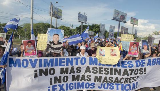 marcha, Movimiento Madres de Abril, contramarcha, masacre