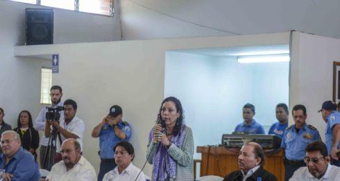 Rosario Murillo, Diálogo Nacional, represión, delincuencia,