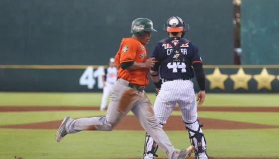 Everth Cabrera tomó base ocho veces en los cinco juegos de la semifinal de los Leones de Yucatán en el primer torneo de la temporada. LA PRENSA/CORTESÍA LEONES DE YUCATÁN