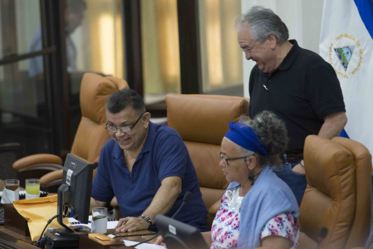 Roberto Rivas, oficialistas, diputados, FSLN, Consejo Supremo Electoral, CSE